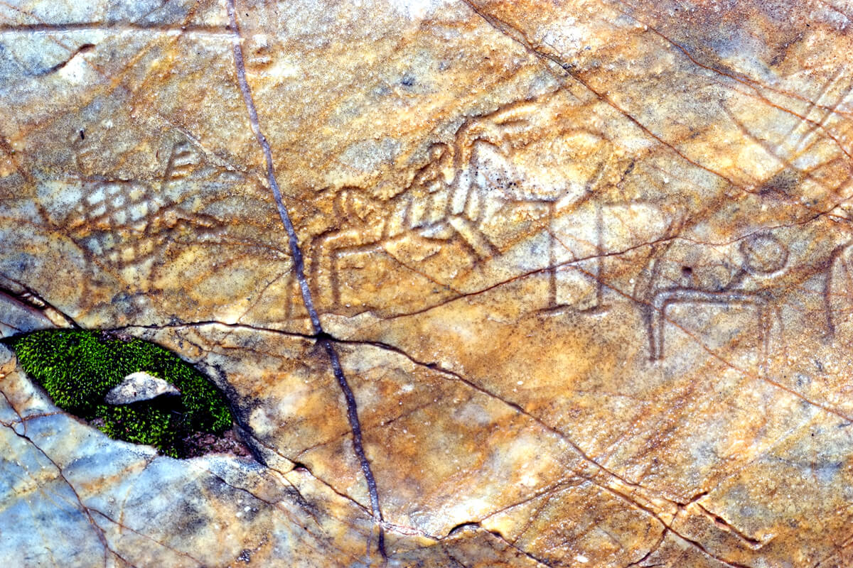 Rock Art - photo by Dimofeleia archive